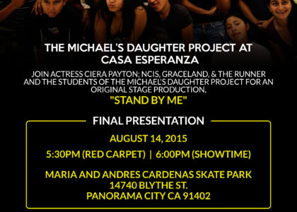 Support the final performance of Stand By Me